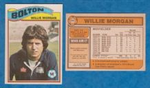 Bolton Wanderers Willie Morgan Scotland 265